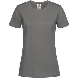 Vêtements Femme T-shirts manches courtes Stedman Organic Gris foncé