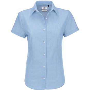 Vêtements Femme Chemises / Chemisiers B And C SWO04 Bleu