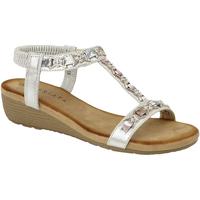 Chaussures Femme Sandales et Nu-pieds Cipriata Lia Gris clair