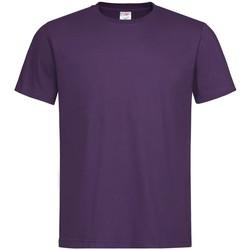 Vêtements Homme T-shirts manches courtes Stedman Classics Violet