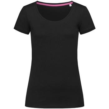 Vêtements Femme T-shirts manches courtes Stedman Stars Megan Opal noir