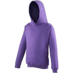 Vêtements Enfant Sweats Awdis Hooded Pourpre