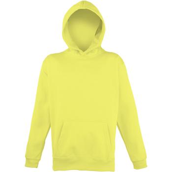 Vêtements Enfant Sweats Awdis Hooded Jaune électrique