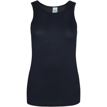 Vêtements Femme Débardeurs / T-shirts sans manche Just Cool Girlie Bleu marine