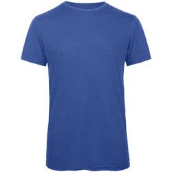 Vêtements Homme T-shirts manches courtes B And C Favourite Bleu royal chiné