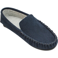 Chaussures Homme Chaussons Eastern Counties Leather Moccasin Bleu marine