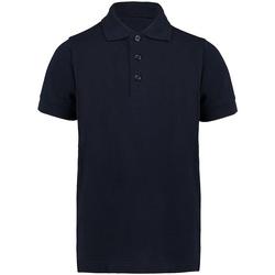 Vêtements Garçon Polos manches courtes Kustom Kit KK406 Bleu marine
