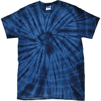Vêtements T-shirts manches courtes Colortone Tonal Bleu marine