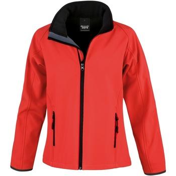 Vêtements Femme Coupes vent Result R231F Rouge/Noir
