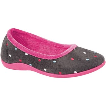 Chaussures Femme Chaussons Sleepers  Gris/Fuchsia