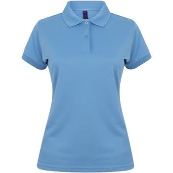 Vêtements Femme Polos manches courtes Henbury Coolplus Bleu moyen
