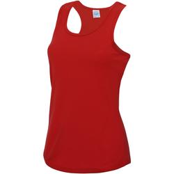 Vêtements Femme Débardeurs / T-shirts sans manche Just Cool Girlie Rouge feu