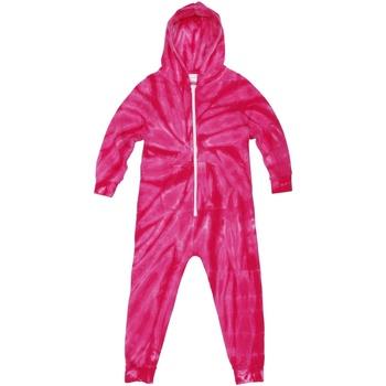 Vêtements Enfant Pyjamas / Chemises de nuit Colortone Die Tye Rose