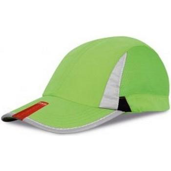 Accessoires textile Casquettes Spiro Baseball Vert/Noir