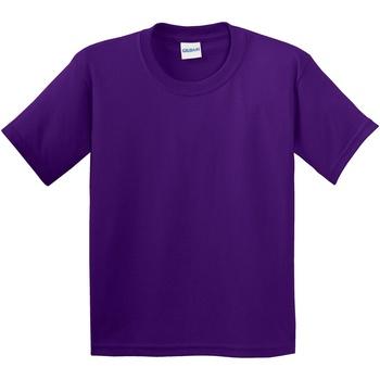 Vêtements Enfant T-shirts manches courtes Gildan 64000B Violet