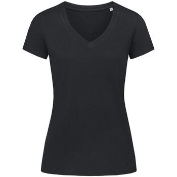 Vêtements Femme T-shirts manches courtes Stedman Stars Janet Opal noir