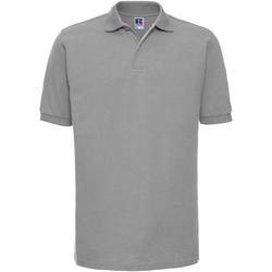 Vêtements Homme Polos manches courtes Russell Polo à manches courtes BC572 Gris clair