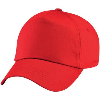 Accessoires textile Enfant Casquettes Beechfield Baseball Rouge vif