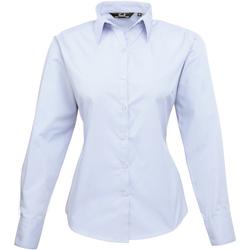 Vêtements Femme Chemises / Chemisiers Premier PR300 Bleu pâle