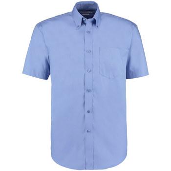 Vêtements Homme Chemises manches courtes Kustom Kit Oxford Bleu moyen