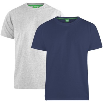 Vêtements Homme T-shirts manches courtes Duke Fenton Bleu marine/ Gris