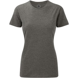 Vêtements Femme T-shirts manches courtes Russell Tshirt long à manches courtes BC2728 Gris marne