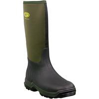 Chaussures Femme Bottes de pluie Grubs Boots  Vert Foncé
