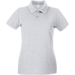 Vêtements Femme Polos manches courtes Universal Textiles 63030 Gris marne