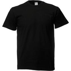 Vêtements Homme T-shirts manches courtes Universal Textiles 61082 Noir