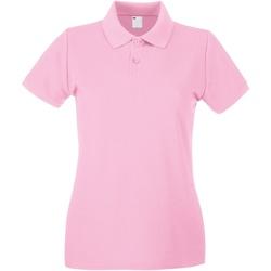Vêtements Femme Polos manches courtes Universal Textiles 63030 Rose bébé