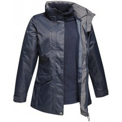 Vêtements Femme Manteaux Regatta Benson Bleu marine