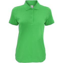 Vêtements Femme Polos manches courtes B And C Safran Vert réel