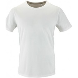 Vêtements Homme T-shirts manches courtes Sols Milo Blanc