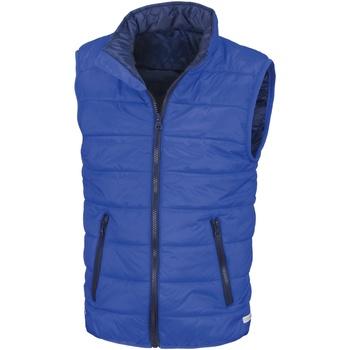 Vêtements Enfant Gilets / Cardigans Result Core Bleu roi/Bleu marine