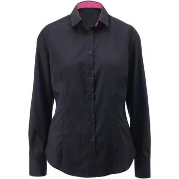 Vêtements Femme Chemises / Chemisiers Alexandra AX060 Noir/Rose