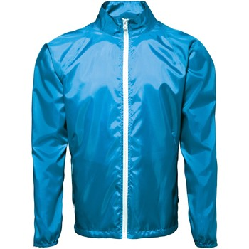 Vêtements Homme Coupes vent 2786 Contrast Saphir/Blanc