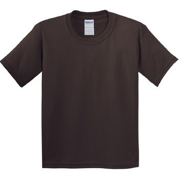 Vêtements Enfant T-shirts manches courtes Gildan 5000B Marron