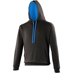 Vêtements Sweats Awdis Hooded Noir / bleu saphir