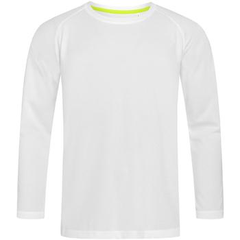 Vêtements Homme T-shirts manches longues Stedman Active Blanc