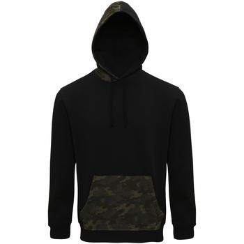 Vêtements Homme Sweats Asquith & Fox Camo Noir / vert