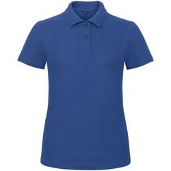 Vêtements Femme Polos manches courtes B And C ID.001 Bleu roi