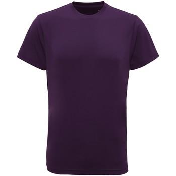 Vêtements Homme T-shirts manches courtes Tridri TR010 Pourpre vif