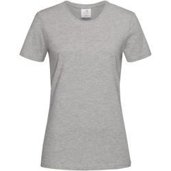 Vêtements Femme T-shirts manches courtes Stedman Classics Gris
