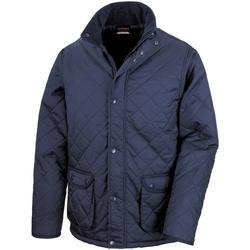 Vêtements Homme Blousons Result Cheltenham Bleu marine