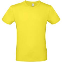 Vêtements Homme T-shirts manches courtes B And C E150 Jaune