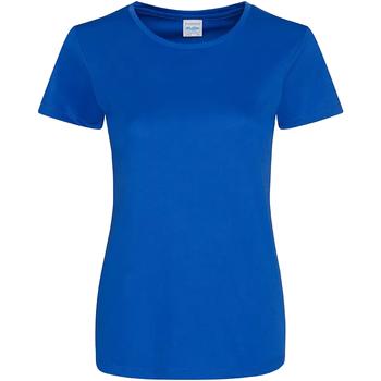 Vêtements Femme T-shirts manches courtes Awdis Girlie Bleu roi