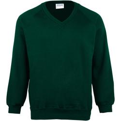 Vêtements Enfant Sweats Maddins Coloursure Vert bouteille