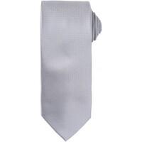 Vêtements Homme Cravates et accessoires Premier Waffle Argent