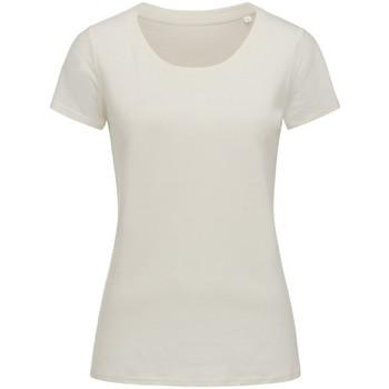 Vêtements Femme T-shirts manches courtes Stedman Stars Organic Neige