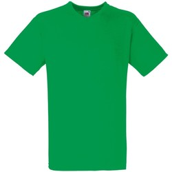 Vêtements Homme T-shirts manches courtes Fruit Of The Loom Valueweight Vert tendre